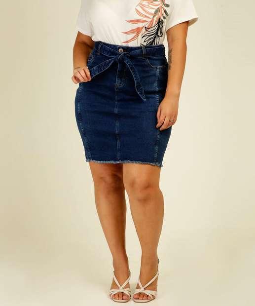 Image_Saia Jeans Plus Size Feminina Cinto