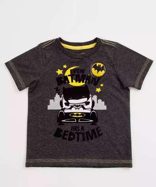 Image_Camiseta Infantil Led Batman Liga Da Justiça