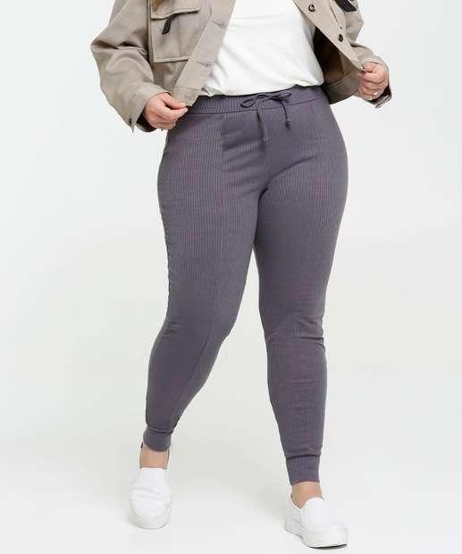 Image_Calça Feminina Skinny Canelada Plus Size