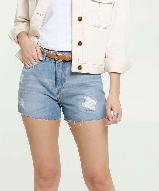 Image_Short Feminino Jeans Destroyed Bolsos Marisa