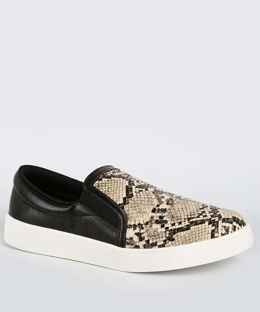 Image_Tênis Feminino Slip On Estampa Animal Print Bebecê