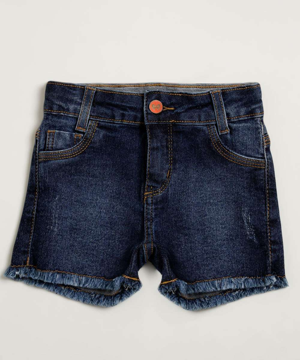 Short Infantil Jeans Stretch Marisa