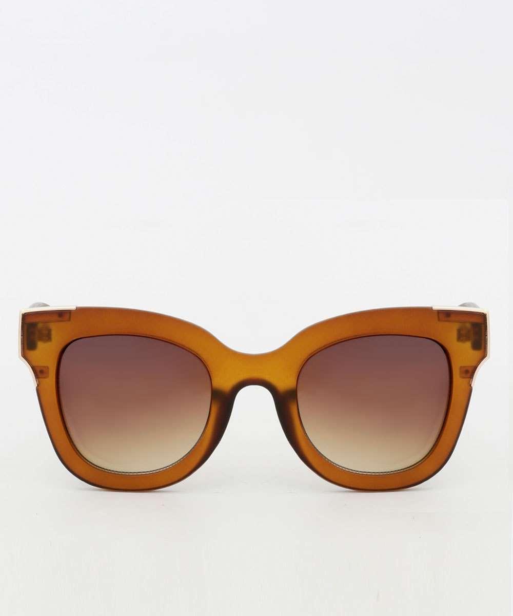 Óculos de Sol Feminino Quadrado Fosco Marisa
