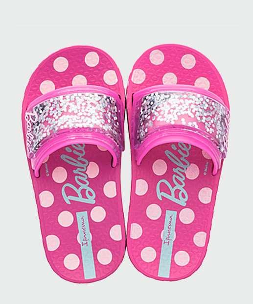 Image_Chinelo Infantil Slide Glitter Barbie Ipanema 26162