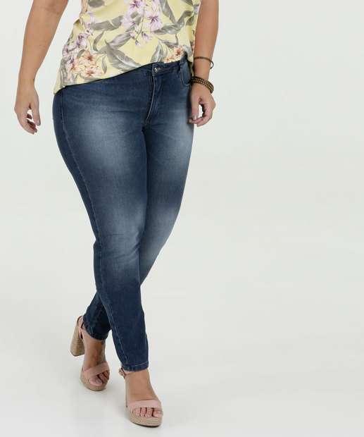 Image_Calça Feminina Jeans Skinny Plus Size Razon