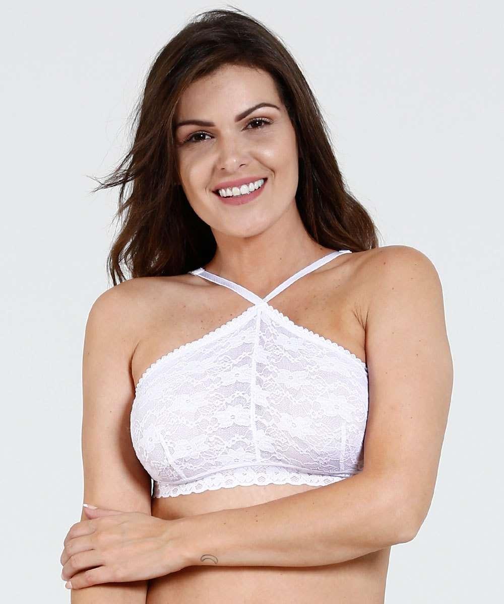 248814485 Top Feminino Renda Marisa