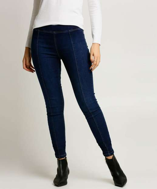 Image_Calça Jeans Skinny Feminina Recortes