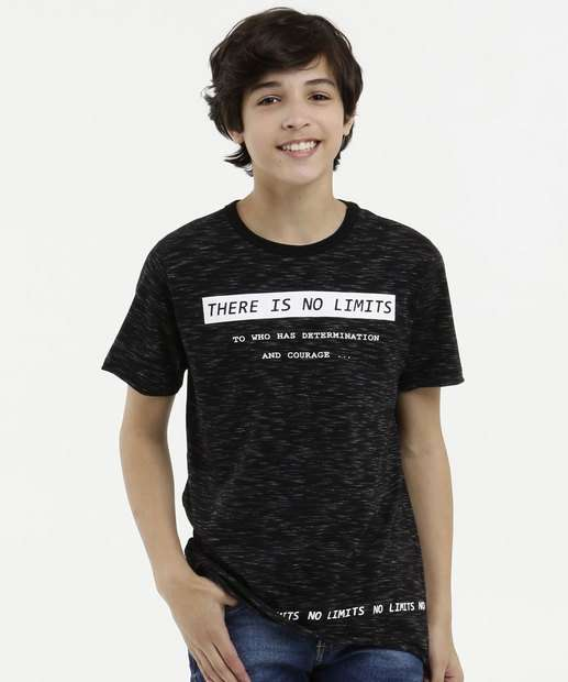 Image_Camiseta Juvenil Flamê Estampa Frontal Manga Curta