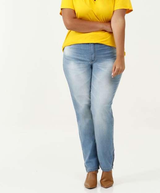 Image_Calça Feminina Reta Plus Size Uber Jeans