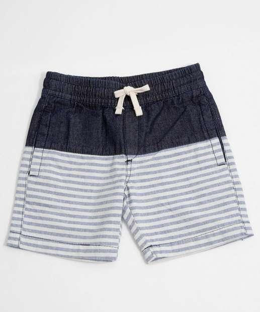 Image_Short Infantil Jeans Listrado Bolsos MR