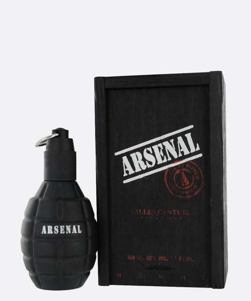 Image_Perfume Masculino Arsenal Black  Eau de Toilette 100 ml
