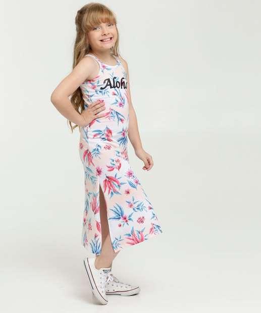 Image_Vestido Infantil Longo Estampa Tropical Brandili