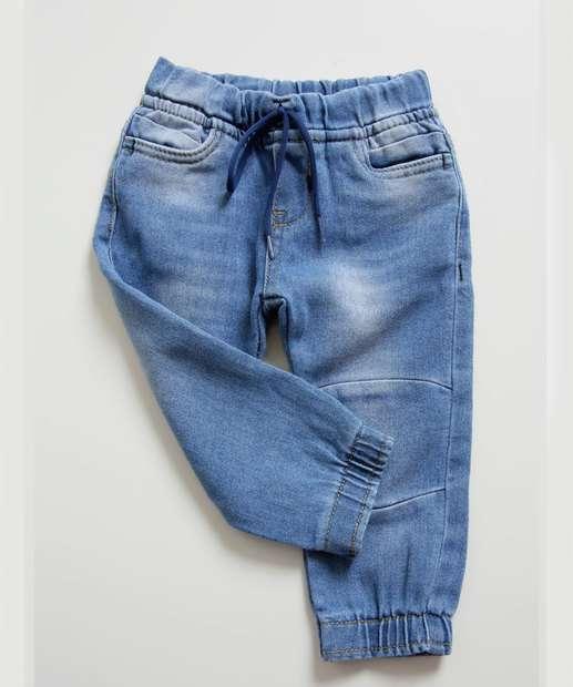 Image_Calça Infantil Bebê Jeans Jogger