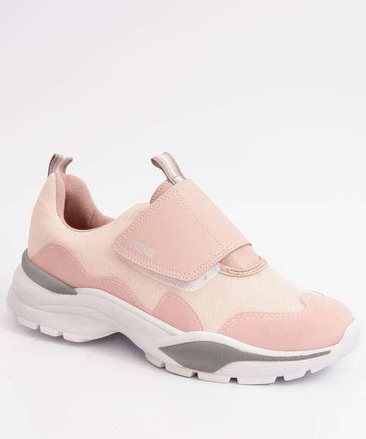 Image_Tênis Feminino Chunky Sneaker Velcro Vizzano
