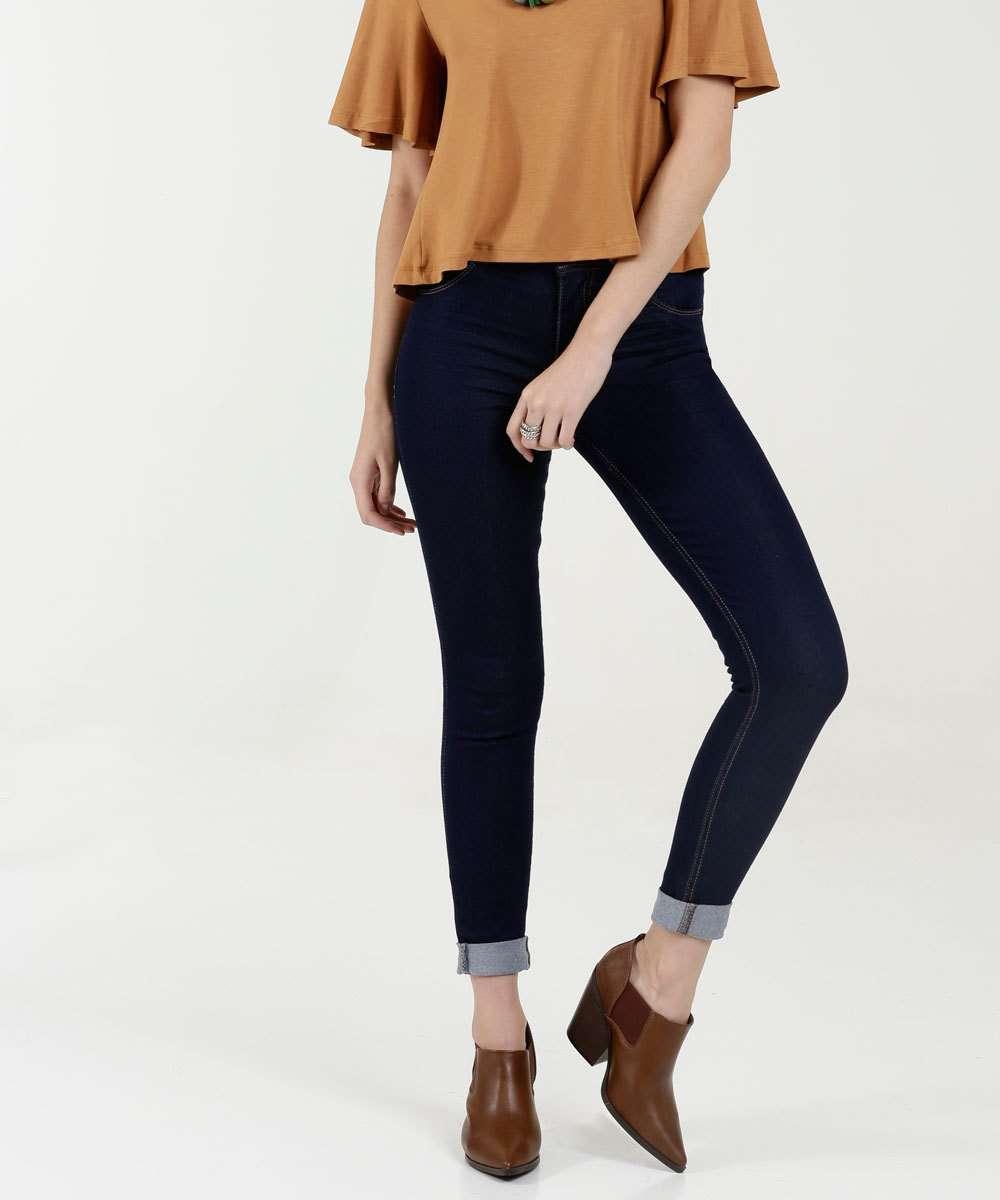Calça Feminina Jeans Skinny Stretch Biotipo