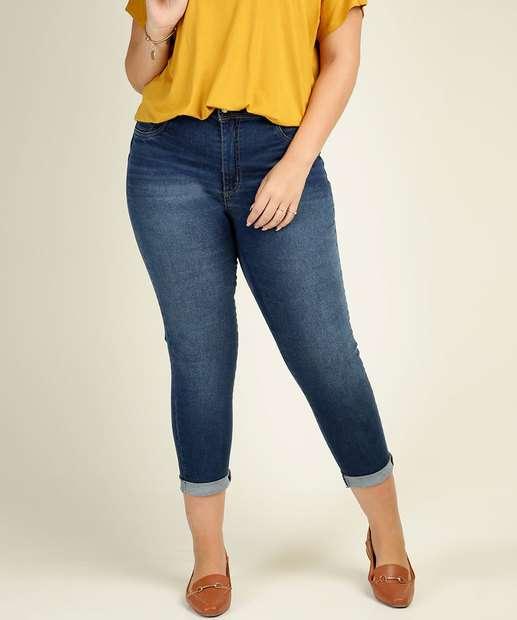 Image_Calça Plus Size Feminina Jeans Skinny Sawary