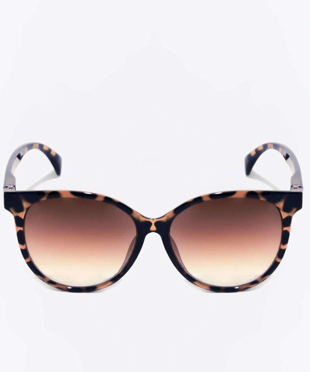Óculos de Sol Feminino Estampado Redondo Marisa