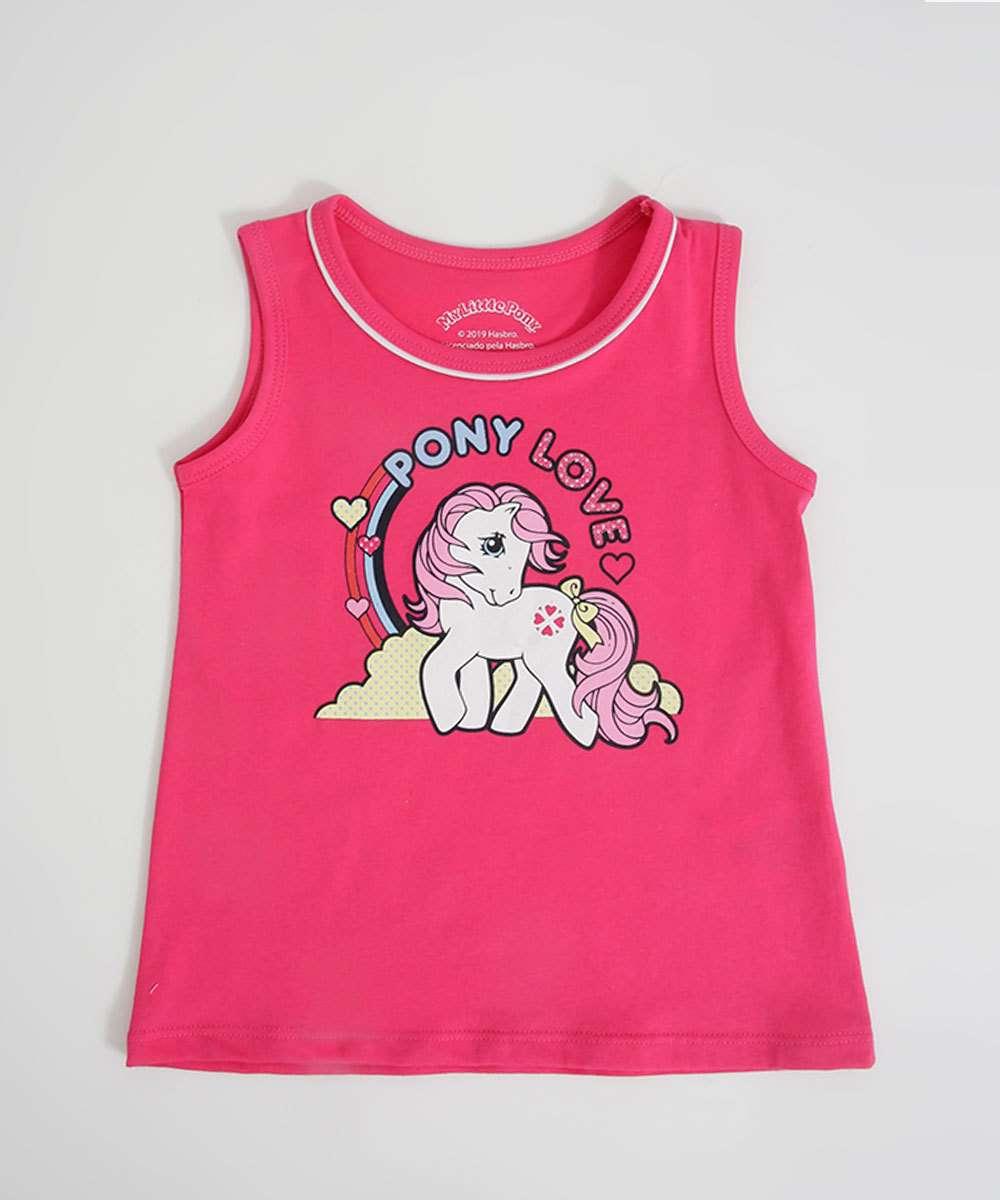 Blusa Infantil Estampa My Little Pony Hasbro
