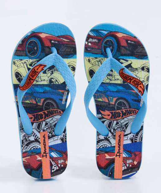 Image_Chinelo Ipanema Infantil Hot Wheels Tyre