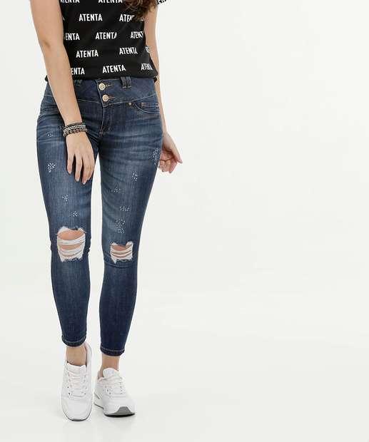 Image_Calça Feminina Cigarrete Destroyed Uber Jeans