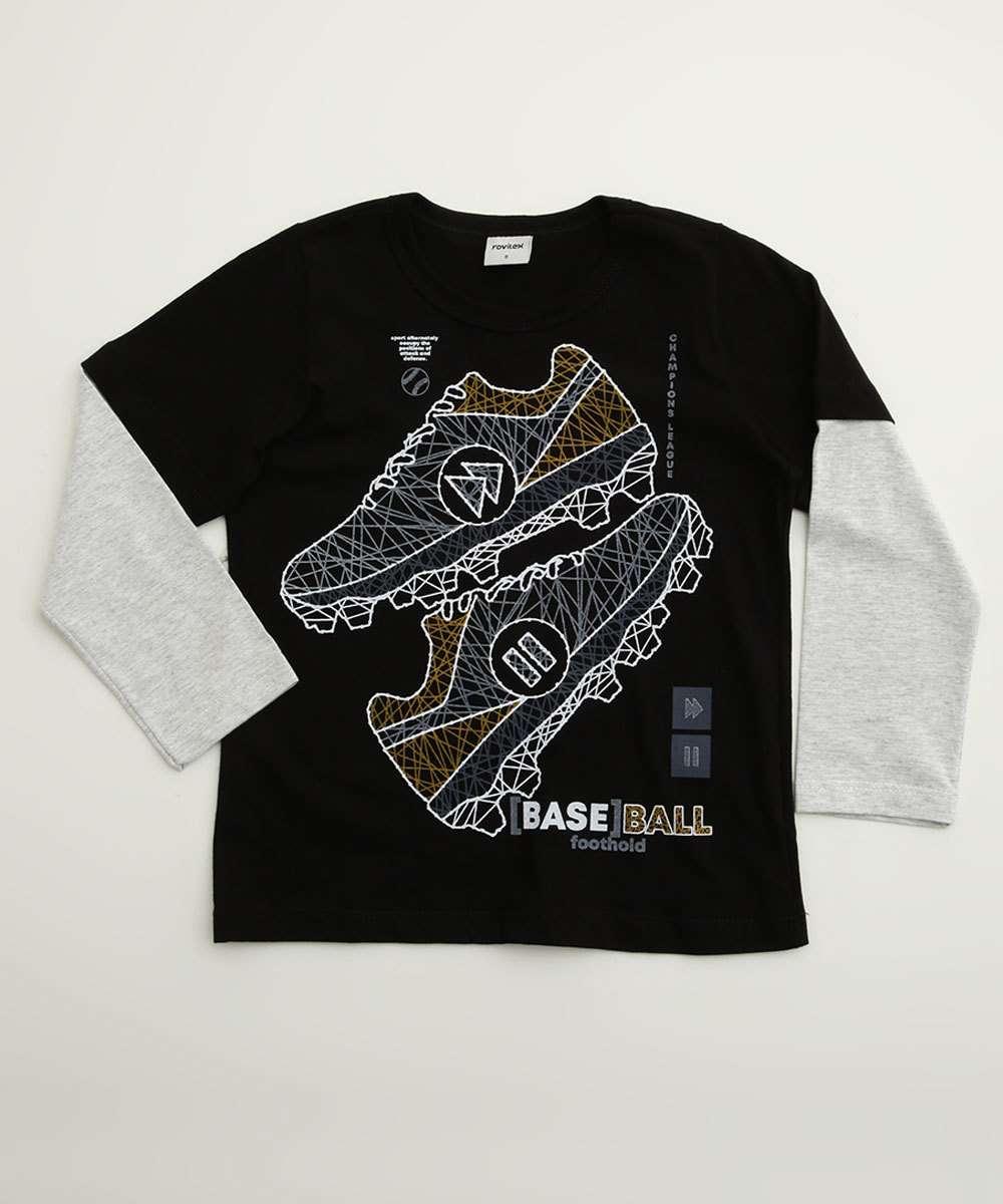 Camiseta Infantil Manga Longa Estampada Tam 4 a 10