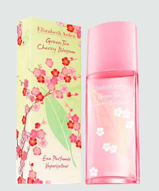 Image_ Perfume Feminino Green Tea Cherry Blossom Elizabeth Arden - 100ml
