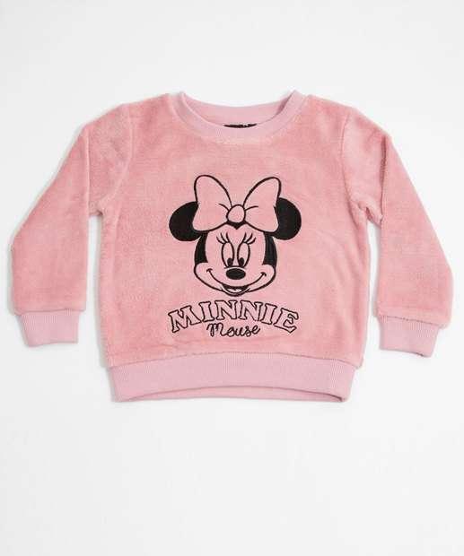 Image_Blusão Infantil Pelúcia Estampa Minnie Disney