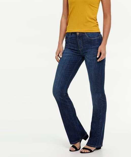 Image_Calça Feminina Jeans Stretch Flare Sawary