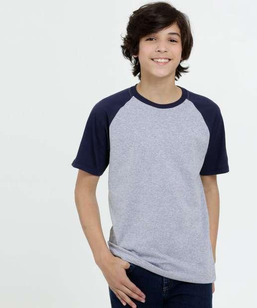 Image_Camiseta Juvenil Recorte Manga Curta MR