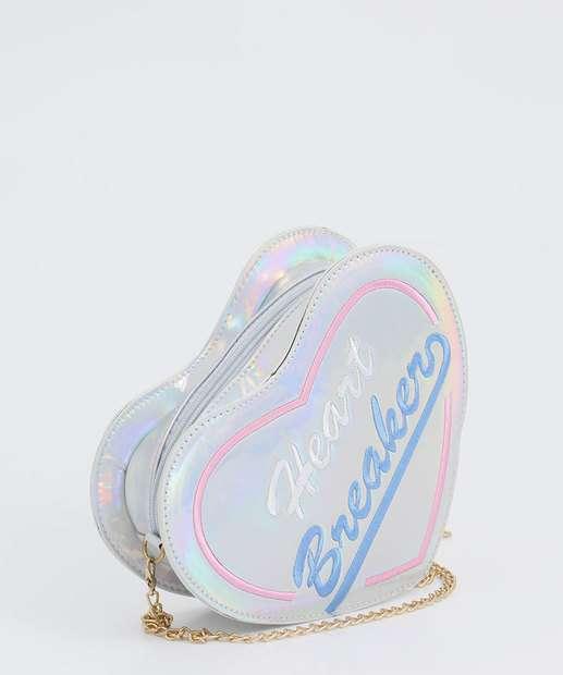 Image_Bolsa infantil Transversal Coração Holográfico