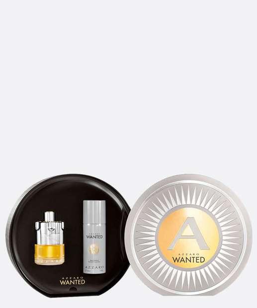 Image_Kit Masculino Perfume e Desodorante Wanted Duo Azzaro - Eau de Toilette