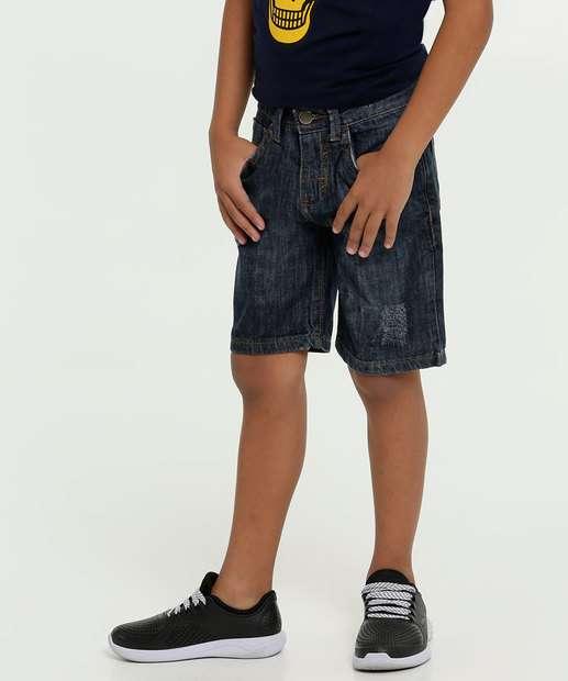 Image_Bermuda Jeans Infantil Puídos MR