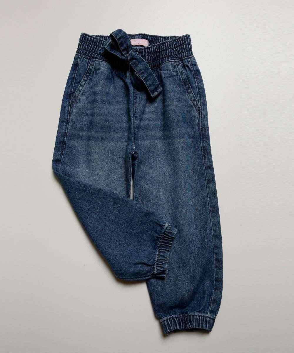 Calça Infantil Jeans Jogger Marisa Tam 1 a 4
