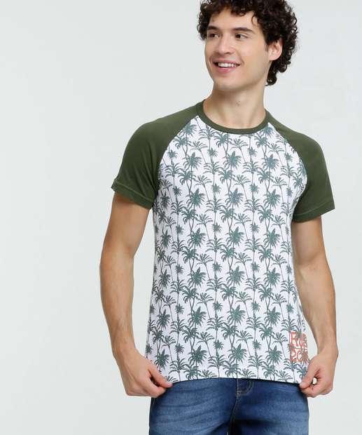 Image_Camiseta Masculina Estampa Tropical Rock & Soda