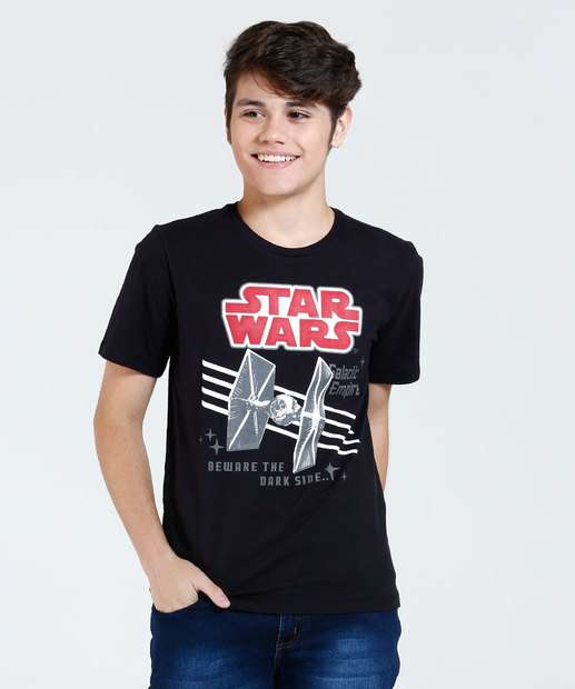Image_Camiseta Infantil Estampa Frontal Star Wars