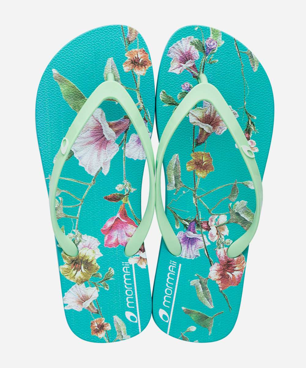 Chinelo Feminino Estampa Tropical Mormaii