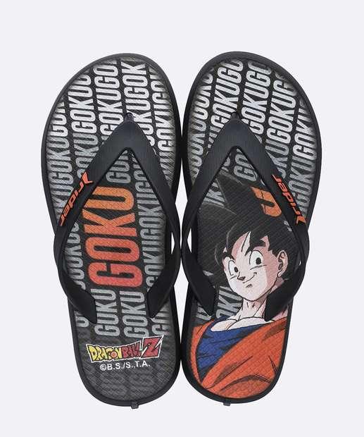 Image_Chinelo Infantil Estampa Goku Dragon Ball Rider