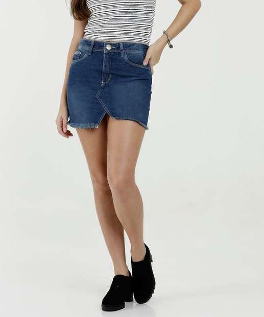 Image_Saia Feminina Barra Desfiada Five Jeans