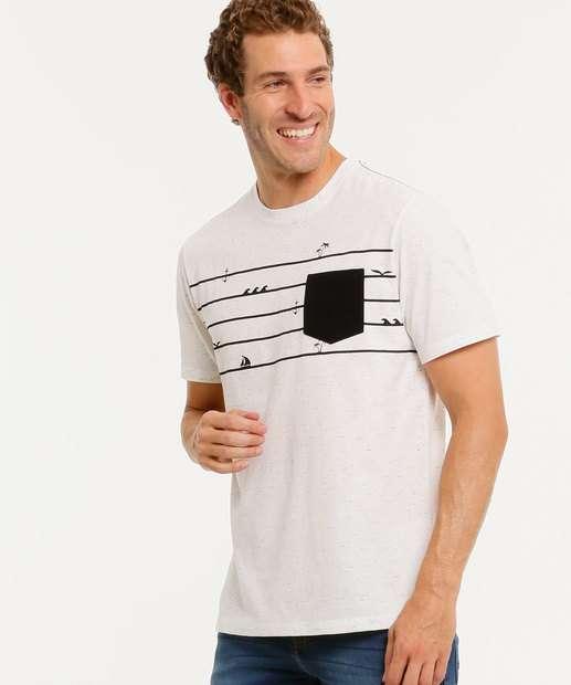 Image_Camiseta Masculina Listras Bolso MR