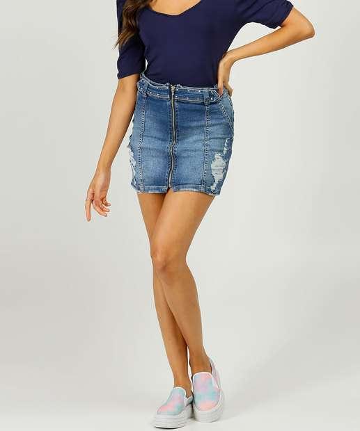 Image_Saia Jeans Destroyed Feminina Strass Biotipo