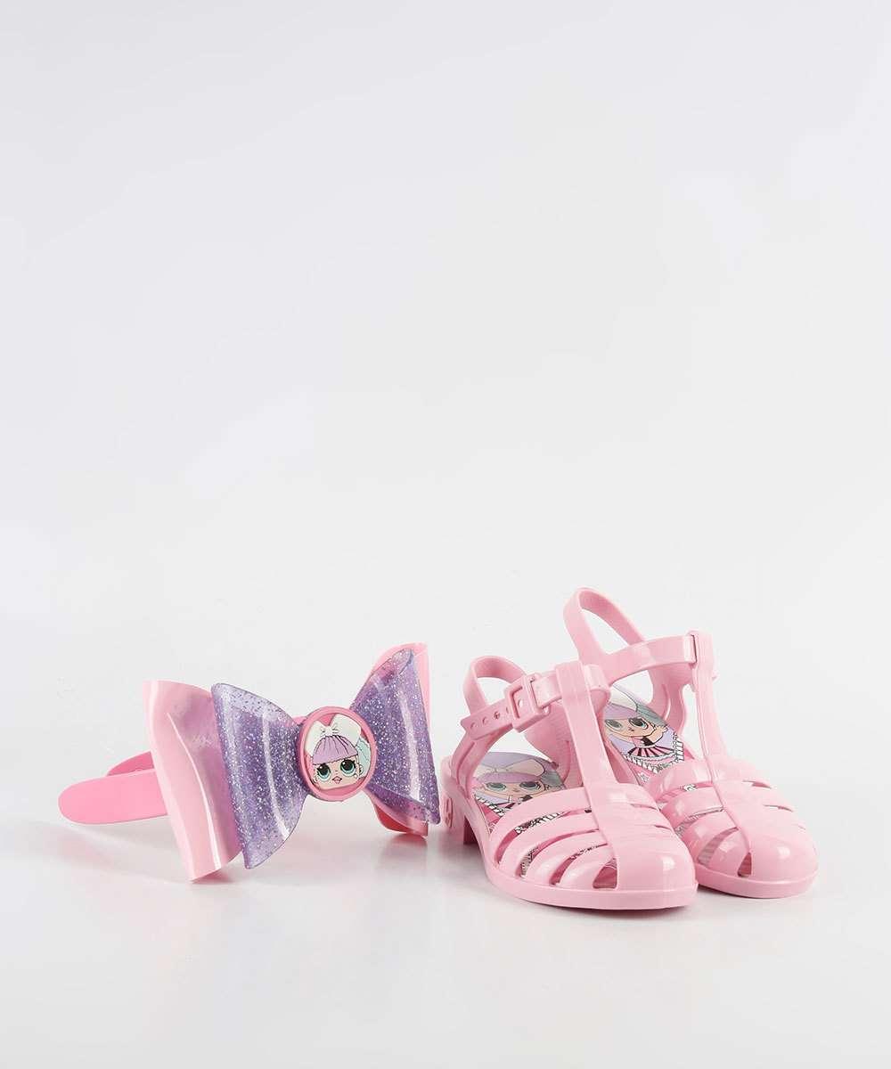 2581ce8e0cfe0 1; 2; 3; 4; 5; 6; 7; 8; 9. Compartilhar. adicionar aos favoritos produto  favoritado. Sandália Infantil Brinde Lol Laço Mania Grendene Kids