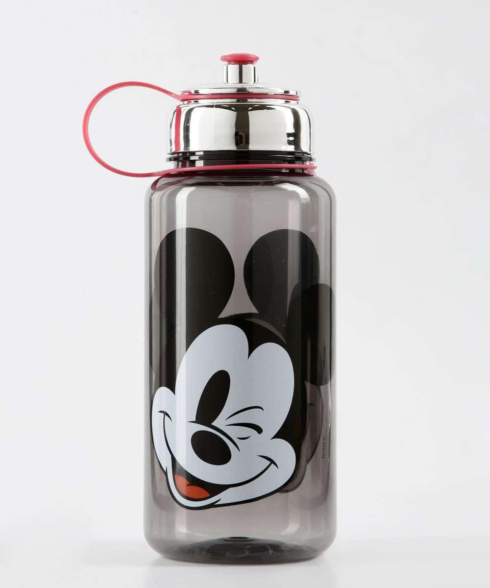 Garrafa Squeeze Feminina Estampa Mickey 1000ML Disney