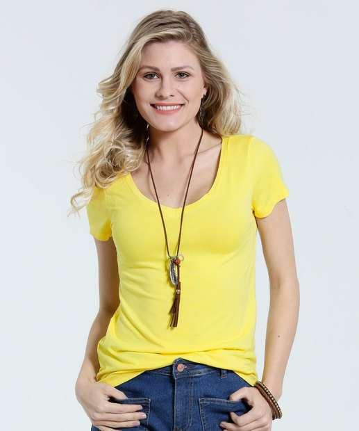 Image_Blusa feminina decote redondo básica Marisa