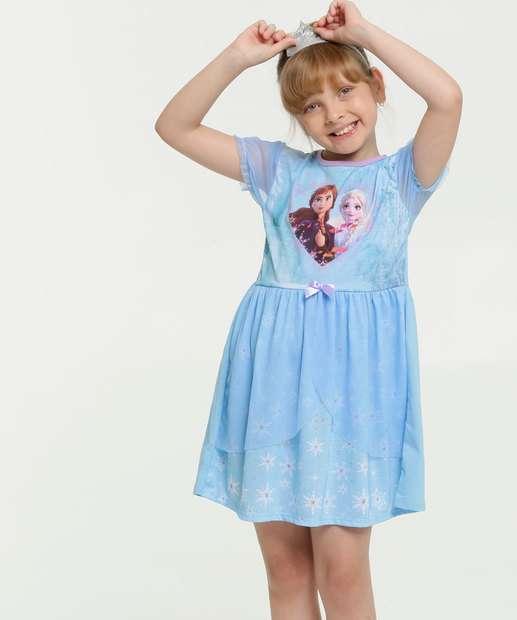Image_Camisola Infantil Frozen Brinde Tiara Disney