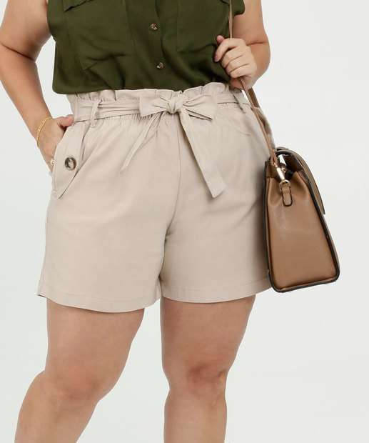 Image_Bermuda Feminina Bengaline Clochard Plus Size Marisa
