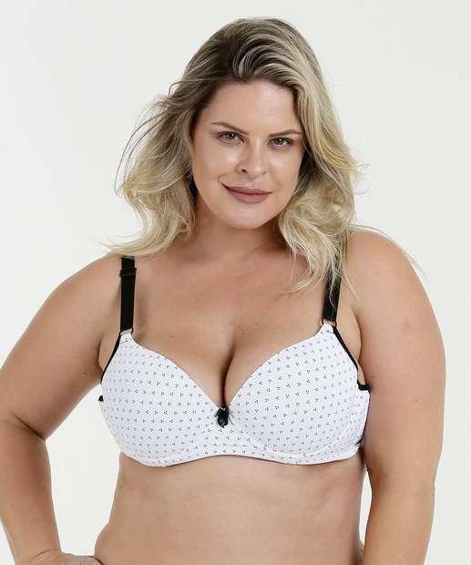 Image_Sutiã Feminina Com Base Estampa Bolinha Plus Size Marisa