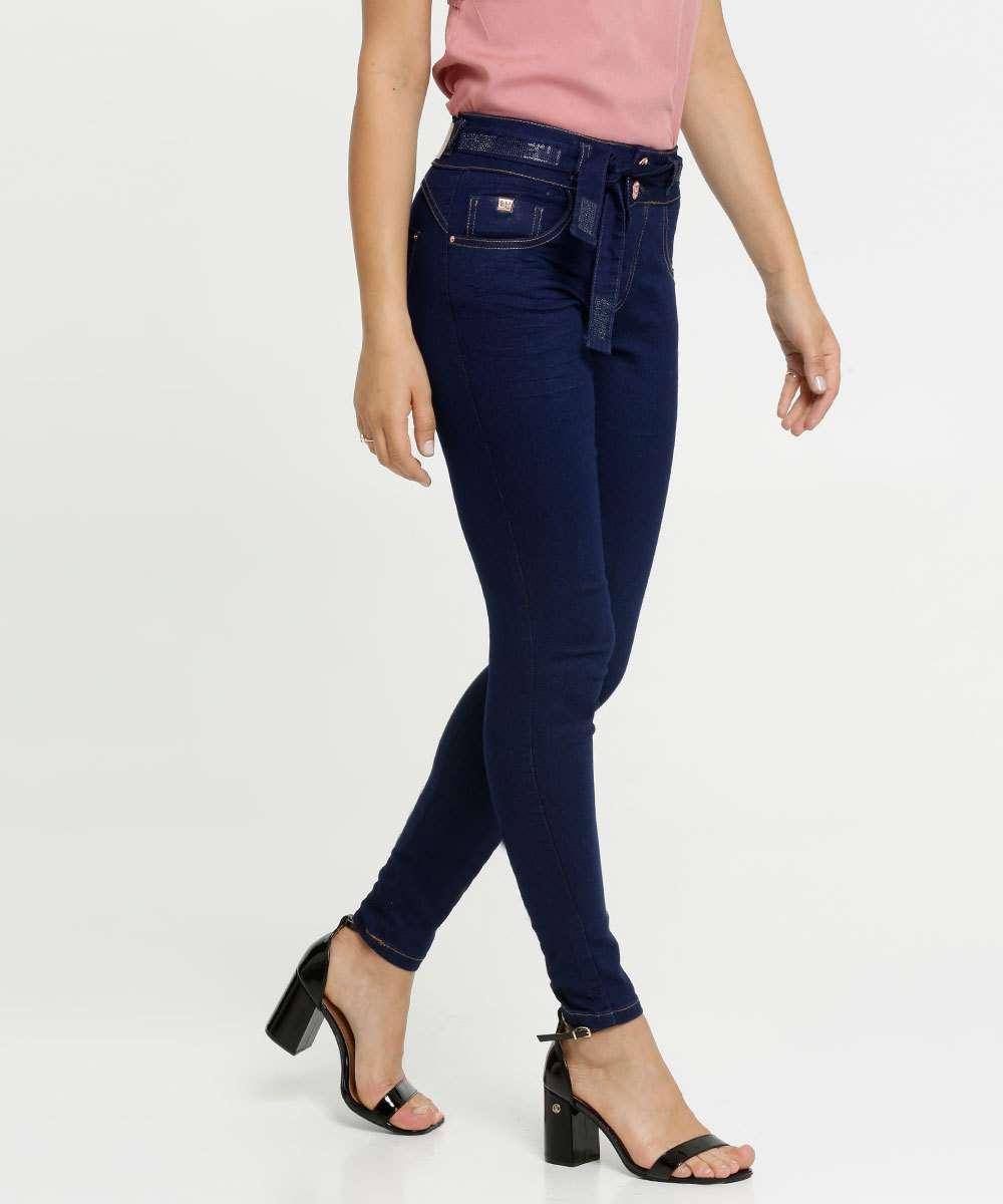 Calça Jeans Stretch Skinny Feminina Biotipo