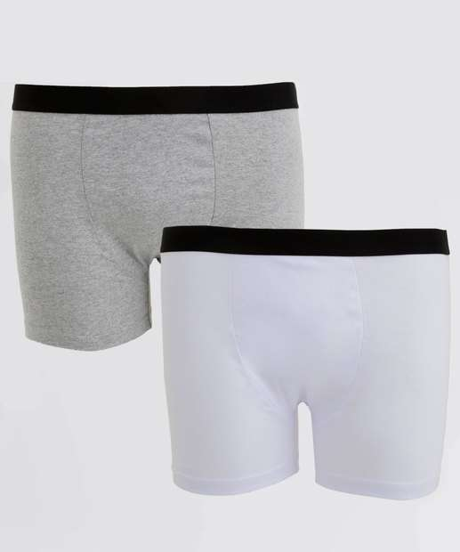 7d11d0563 Kit 2 Cuecas Masculina Boxer MR