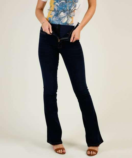 Image_Calça Jeans Flare Feminina Super Lipo Modeladora Sawary