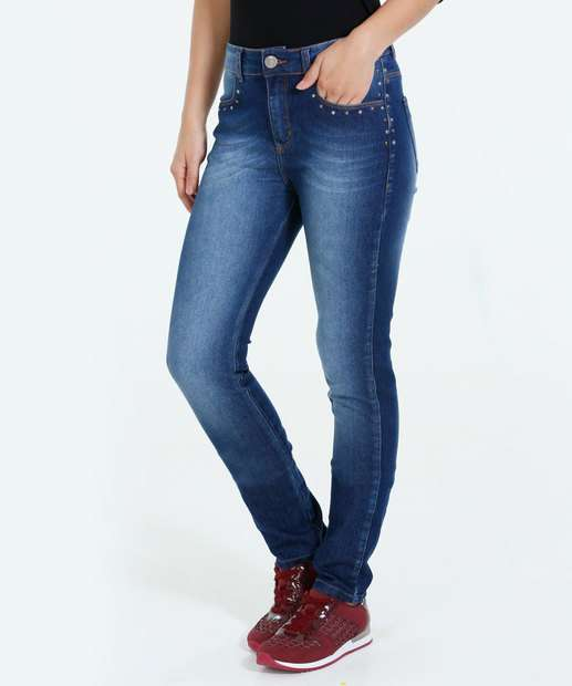 Image_Calça Feminina Skinny Jeans Marisa
